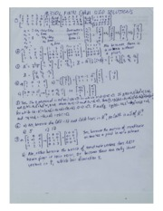 FINAL EXAM 1200 SOLUTIONS