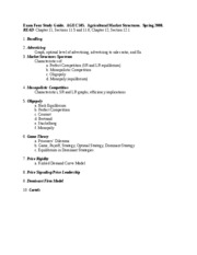 EXAM FOUR STUDY GUIDE