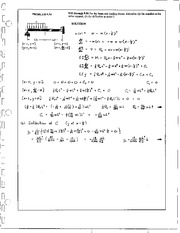 1064_Mechanics Homework Mechanics of Materials Solution
