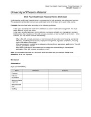 Week_Four_Health_Care_Financial_Terms_Worksheet