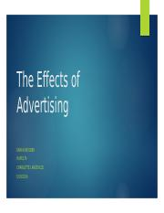 The Effects of Advertising.pptx