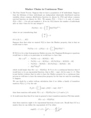 Lecture Notes on Markov Chains
