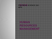 Unit 6 - Human Resource Management