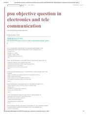psu objective question in electronics and tele communication_ IMPORTANT PSU QUESTION(microwave,emt,c