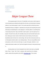 Research On Chaw