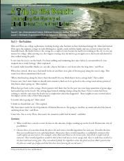 A Trip To The Beach Pdf National Center For Case Study Teaching In Science Untangling Mystery Of Algal Blooms Great