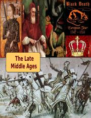 22 Late Middle Ages - Tech 201 - 2015 UPDATE - Davis.pptx
