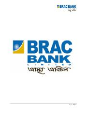 financial performance evaluation of brac bank