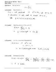 Math 145 Test 2 Solutions