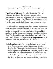 G122 Lecture 4, 2017, Horn of Africa.doc