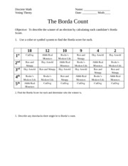 Borda-Count-HW1-Day9