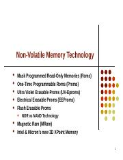 Lecture 9,10 - Non Volatile Memory Technology.ppt