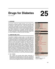 Antidiabetics Lippincott