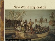New World Exploration I