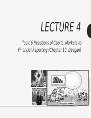 Lecture 4 (Topic 6 - Capital Markets Research in Accounting) - PRESENTATION - Summer 2017.pptx