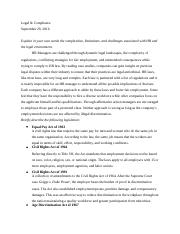 HW Chp 3&4, Legal:Compliance.docx