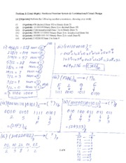Test 1 Sample plus solution (1)