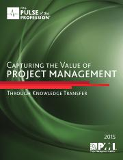 capture value knowledge transfer