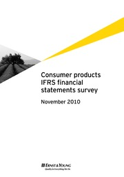E&Y -  Consumer products -CP_IFRS_financial_statements_survey_Nov_2010