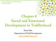 Chapter8. Social and Emotional Development in Toddlerhood(cyber)