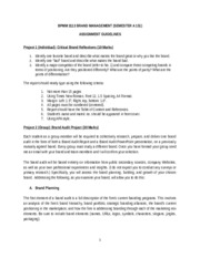 PROJECT GUIDELINES BPMM 3113 A 151 stdn copy
