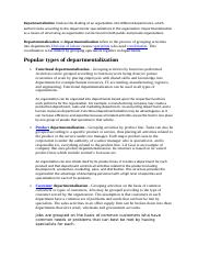 Departmentalization.doc