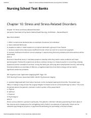 04.Chapter 10_ Stress and Stress-Related Disorders _ Nursing School Test Banks.pdf