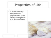 Properties of Life 2