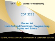 notes Packet #4-15 - User-defined functions and Programming Styles.pptx