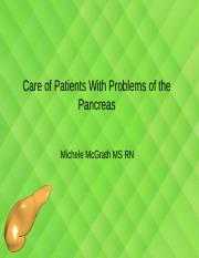 Care of Patients With Problems of the Pancreas My PP Ch 59 student.pptx