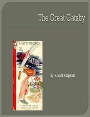 Gatsby Chapter 3.ppt