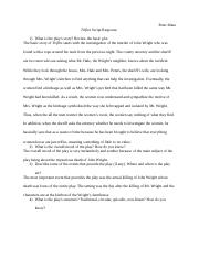 trifles script response isabelle adoue theater trifles by 3 pages script response 1