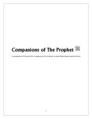 Stories of the Sahabah - Companions of the Prophet