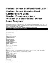 Federal Direct Stafford.docx