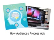 ADV 3310 - How Audiences Process Advertising