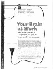 08:03 Your Brain at Work