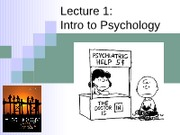 Introduction Psychology (Morgan)