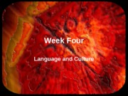 week four language ppt posted