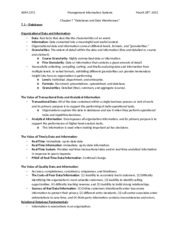 ADM 2372 - Chapter 7 Notes - Databases and Data Warehouses.docx