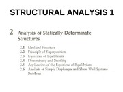 CHAPTER 2-ANALYSIS OF STATICALLY DETERMINATE STRUCTURES