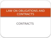 Lecture - Law 21 - 06 - Contracts