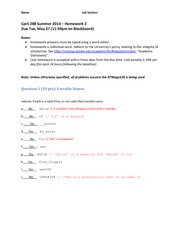 Cpre 288 homework answers