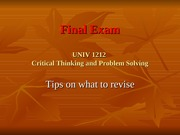 W16-final exam revision-STUDENTS