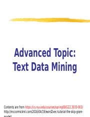 AdvancedTextDataMining.ppt