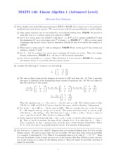 Midterm Test Solutions