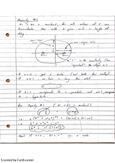 Orbital Dimensions Lecture Notes