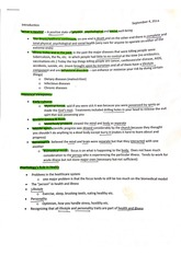 Introduction what is health study guide