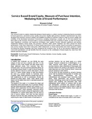 AOCRJ-V1I1P1-Service-Based-Brand-Equity-Measure-of-Purchase-Intention