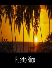 Puerto Rico travel brochure