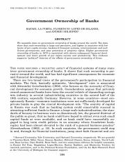 Government Ownership of Banks .pdf